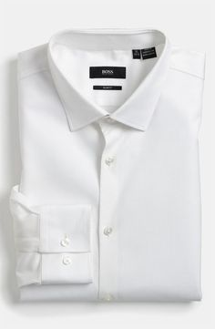 White Dress Shirt by Hugo Boss. Buy for $115 from Nordstrom
