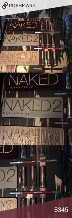 NEW Urban Decay Naked Vault IV from Sephora Brand new. Authentic set. Limited Edition (2017). Purchased from Sephora.com. Receipt available. Collectors item. I am a Posh Ambassador and Top 10% Seller. Check out my reviews and buy with confidence. Urban Decay Makeup
