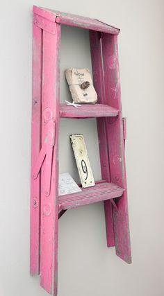 Pink ladder .. cute