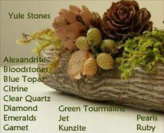 Crystal Yule Stones @raquel_lynne