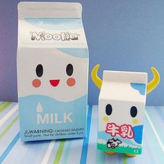 Cute Kawaii Tokidoki milk toy
