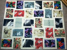 quilts made from hawaiian shirts | Custom Memory Quilts