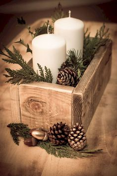 Nice 55 Christmas Home Decor Ideas https://bellezaroom.com/2017/11/03/55-christmas-home-decor-ideas/
