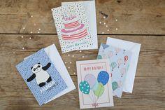Birthday cards by Sostrene Grene