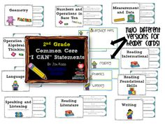 Organize your Common Core Standards!