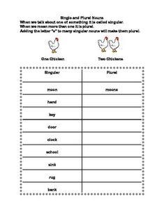 Edison's Spotlight on Nouns - Free English Worksheet for 2nd Grade ...