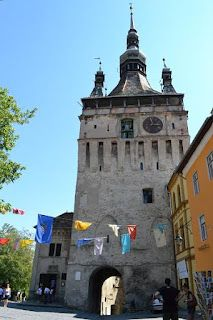 Sighisoara, Clock Tower Pisa, Tower, Sketches, Clock, Building, Photos, Travel, Drawings, Construction