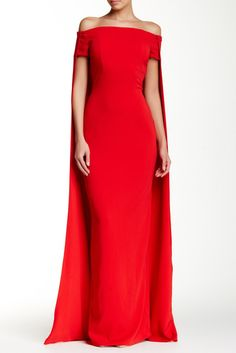 Cape Accent Gown