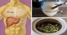 Las 8 bebidas nocturnas más eficaces para una rápida desintoxicación del hígado y la quema de grasas ~ La Buena Salud Es Vida