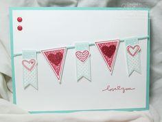 Language of Love stamp set sampler