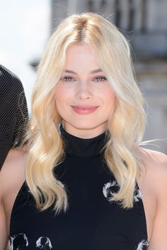 Margot Robbie at the 2016 London photocall for 'Legend of Tarzan'.