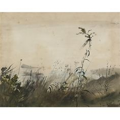 Andrew Wyeth, A River Fog, 1950. Watercolour on paper.