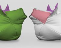 Rochty is a comfortable sitting bag for childrean who love farm animals as much as cats or dogs. New Work, Bean Bag Chair, Anna, Behance, Check, Design, Home Decor, Decoration Home, Room Decor