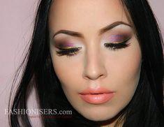 magenta dress makeup - Căutare Google