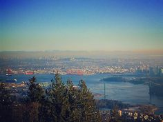 View-ish. #cypressbowllookout #vancouver #view #lowermainland #lionsgatebridge  #indianarm #valleypollution #burnaby #cityscape