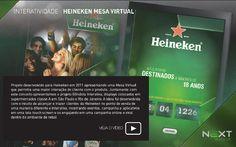 Heineken Mesa interativa