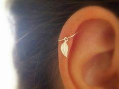 jewels earrings piercing feathers cute ear piercings helix piercing ear feathers nail accessories helix piercing leaves gold