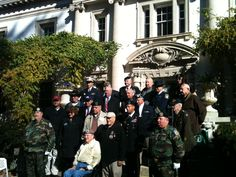 Veterans Day Celebration 11-12-11 @ The Lliriodendron Mansion in Bel Air, MD