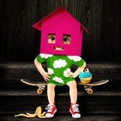 https://flic.kr/p/PywZJd | Nova from Toca House | Fan-collage Toca Boca character. tocaboca.com/app/toca-house/