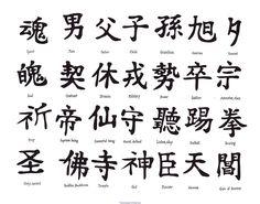 Tatouage Nuque Homme Chinois
