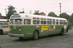 Katherine Caine rode a bus like this one every weekday morning.