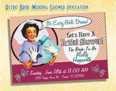 How to Throw a Retro Housewife Bridal Shower
