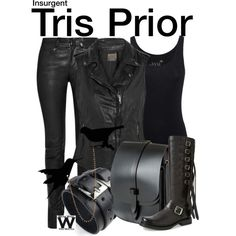 Inspired by Shailene Woodley as Tris Prior in Insurgent - Shopping info! Bad Girl Outfits, Edgy Outfits, Cool Outfits, Tv Show Outfits, Fandom Outfits, Dauntless Clothes, Dauntless Outfit, Girls Fashion Clothes, Clothes For Women