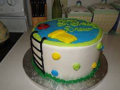 Pool Party Birthday Cake  By Cakes and Candies By Maryellen  West Chester, PA