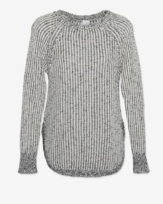 Shae EXCLUSIVE Marled Open Weave Sweater