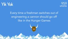 The newest tribute. | The 26 Most Popular Yik Yak Posts Of 2014