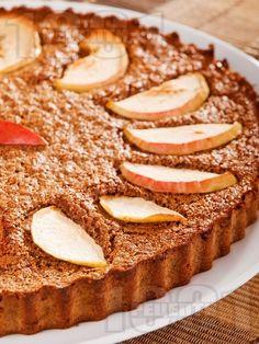 Меден кекс с ябълки и какао - снимка на рецептата
