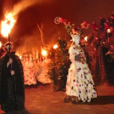 National geographic's Beltane Festival in Scottland