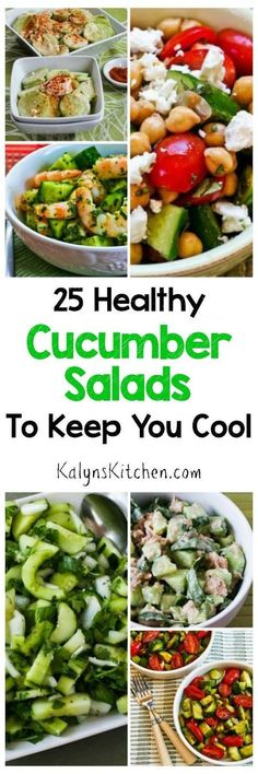 I love cucumbers, and I think they're one of the best foods of summer, so here…