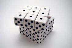 DIY Magnetic Dice Rubiks Cube#Repin By:Pinterest++ for iPad#