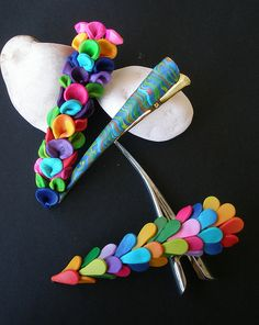 Exotic Flower Pins