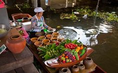 Taling Chan Floating Market, Bangkok
