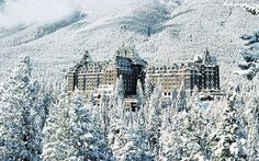 Banff--always thought this hotel was beautiful.  Winter or Summer, it would be a wonderful escape.