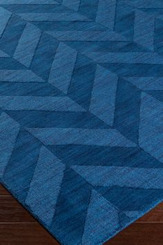 Central Park Carrie Wool Rug - Navy on @HauteLook