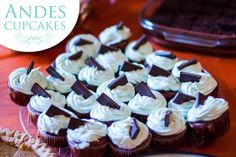 Andes Candy Cupcake Decorating Idea United Faith Church Barnegat, New Jersey #cupcakes #desserts