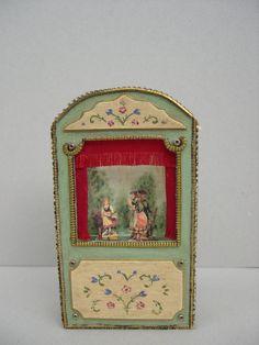 Casa de muñecas y miniaturas.Teatrillo de Cantimpalominiaturas en Etsy