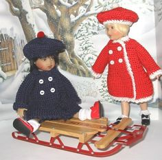 Ship Shape - coat & hat for 8-inch doll