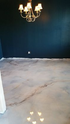 Metallic/ Epoxy/ Marble/ Interior/ Stained Concrete/ Raleigh/ North Carolina