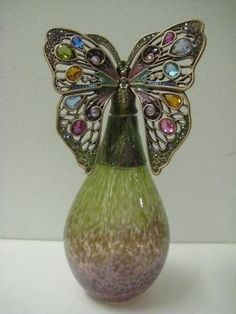 New Jay Strongwater Butterfly Perfume Bottle RARE | eBay by donnabilodeau