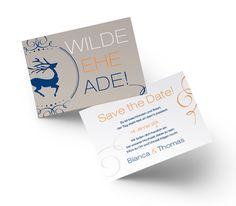 Save the Date Karten Wild sign of love Ade, Save The Date Karten, Love Signs, Dating, Invitations, Qoutes