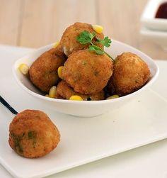 Corn and Rice Balls Recipe