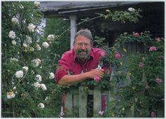 G. Michael Shoup, owner of the Antique Rose Emporium Photo: G. Michael Shoup, Antique Rose Emporium