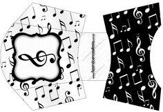 Envelope Fritas Notas Musicais