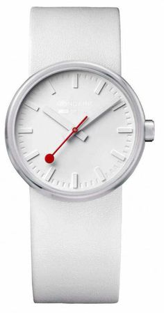 Mondaine Watch Bold White #bezel-fixed #bracelet-strap-leather #brand-mondaine #case-material-steel #case-width-35mm #classic #delivery-timescale-4-7-days #dial-colour-white #gender-mens #movement-quartz-battery #official-stockist-for-mondaine-watches #packaging-mondaine-watch-packaging #style-dress #subcat-bold #supplier-model-no-a658-30306-16sba #warranty-mondaine-official-2-year-guarantee #water-resistant-30m