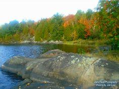 Autumn Scene along Isabella lake offthe Chutes Trail near Orrville Ontario