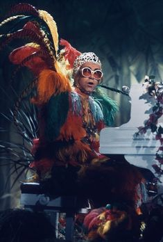 Rocket Man Parche Elton John Bordado Hierro en 3 x 3